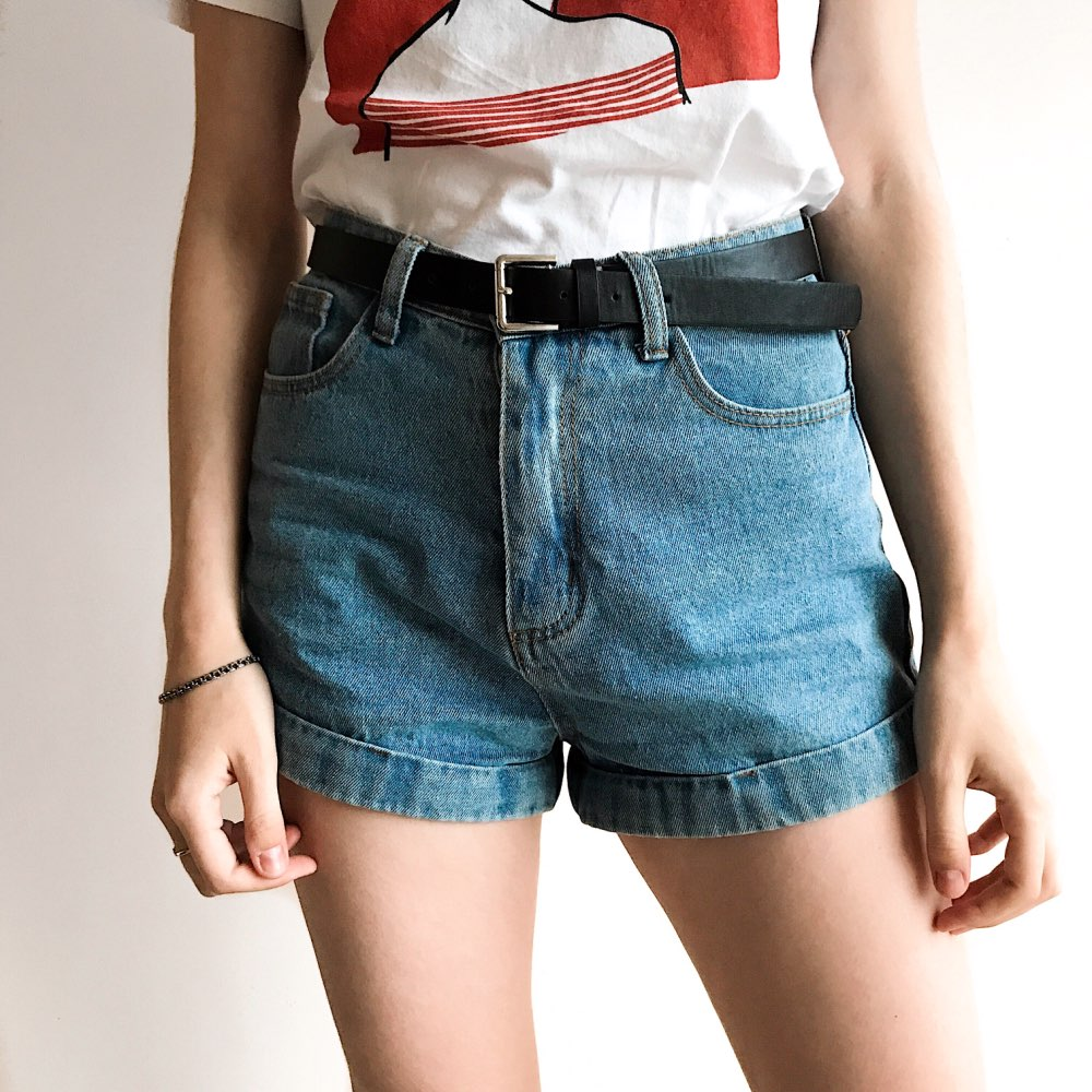 Wixra Basic Denim   Shorts   For Women 2018 Summer New Branded Trendy Slim Plus Size   Short   Pants High Waist Casual Jeans   Shorts