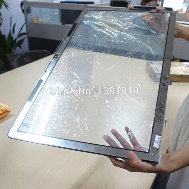 20 шт. DHL Бесплатная Доставка Оригинальный Новый Для Apple iMac 21.5 ''A1311 Передняя ЖК-Экран Стекло С Деревянной Случае Пакет