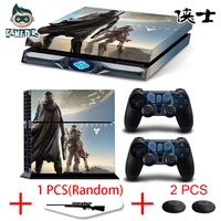 Video Game Destiny Rise Of Iron Vinyl Decal Skin Stickers For Play Station 4 PS4 Console
