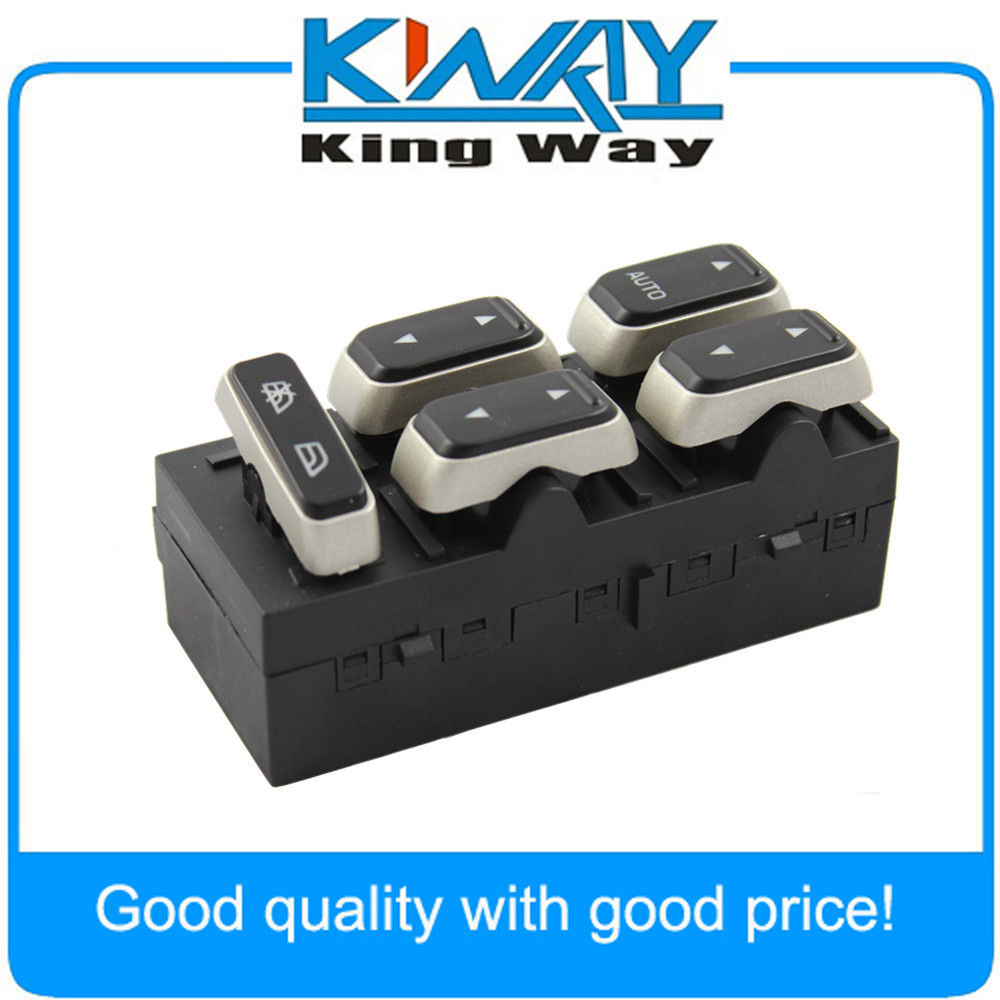 New Electric Power Window Switch Left Front Driver for Lincoln Town Car 2003 2009 5W1Z14529BA