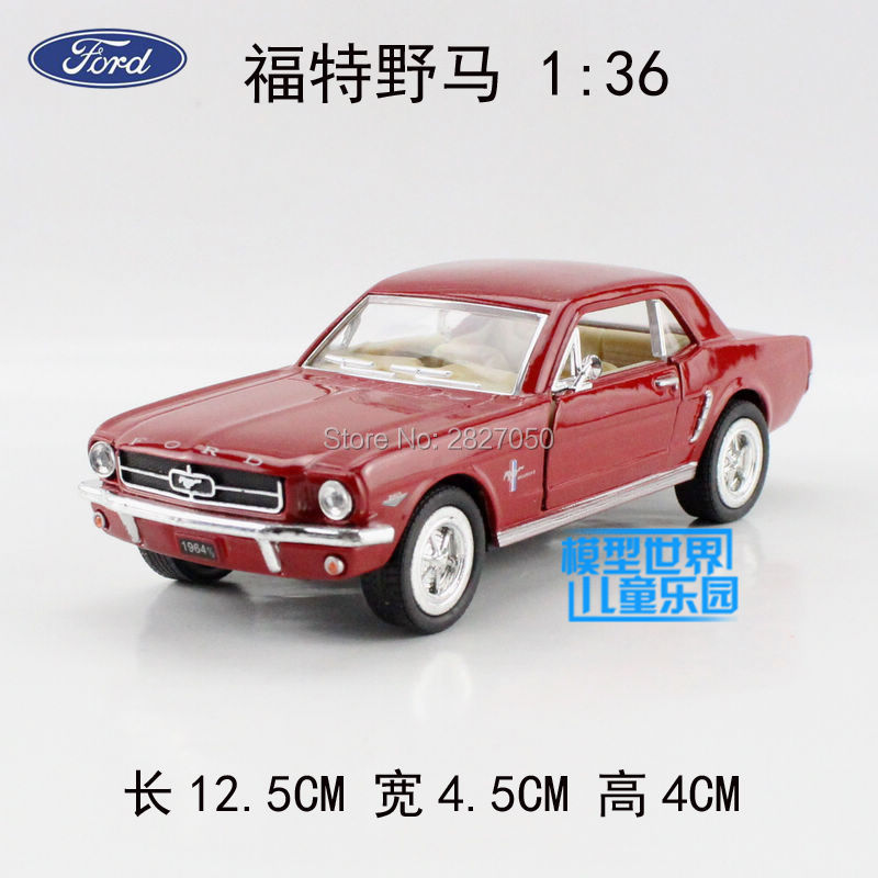 New Ford 1964 Vintage Cars 136 Alloy Diecast Model Car Blue Toy Collection For  sc 1 st  AliExpress.com & Compare Prices on Vintage Ford Cars- Online Shopping/Buy Low Price ... markmcfarlin.com