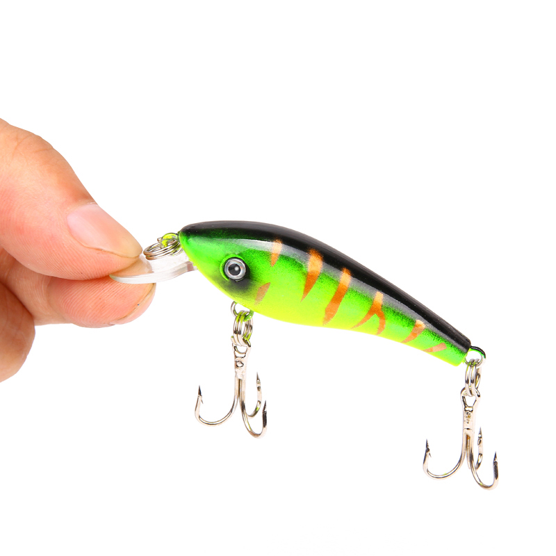 3D Eyes Fishing Wobblers Crank Hard baits 6cm/4.7g Peche a la carp Fishing lures Iscas Artificiais Crankbait Tackle Gear ZB9041 dynamite baits xl pineapple