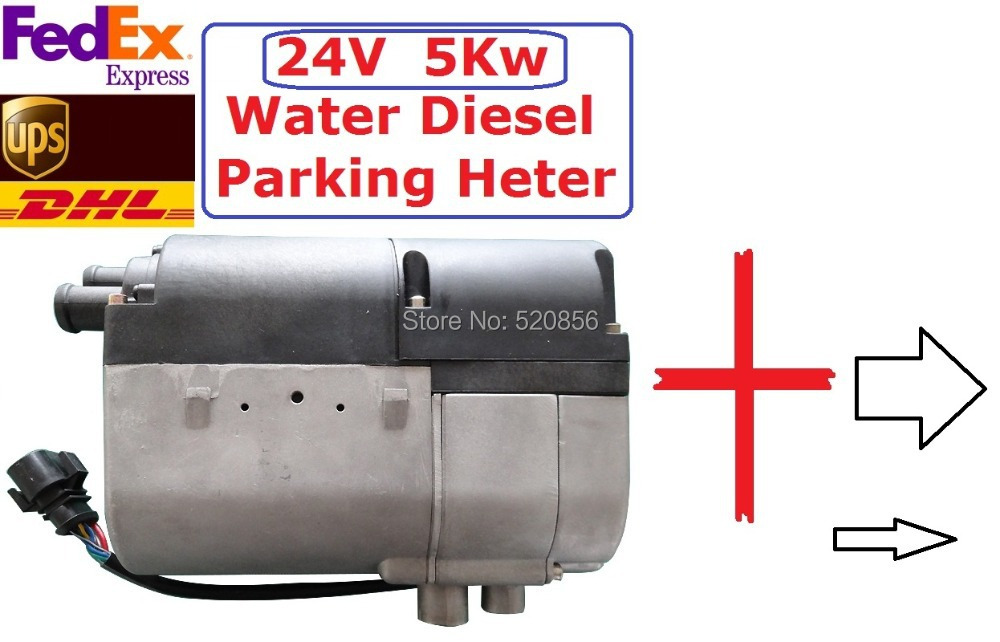 5kw 24V Water Diesel Parking Heater +(GSM REMOTE CONTROLLER+GIFT) Similar With Webasto P ...
