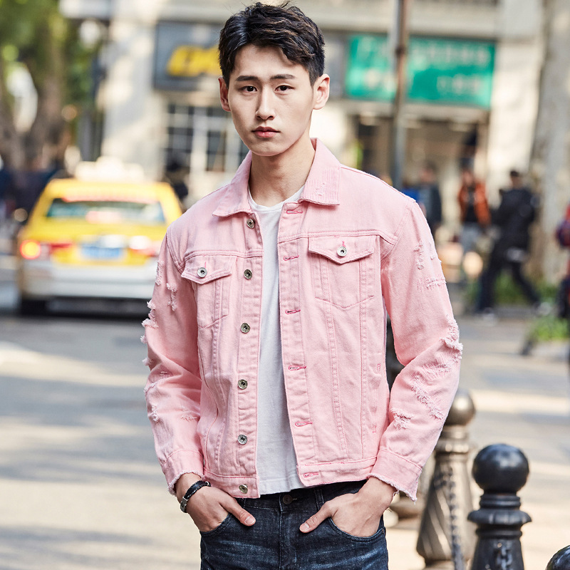 2019 Spring New Japanese College Wind Men s Casual Long sleeved Trend Hip hop Lovers Tooling