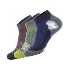 3 Pairs/lots Mens  Coolmax Quick-drying Sock Summer High Quality   Breathable Comfort Thin Short Socks