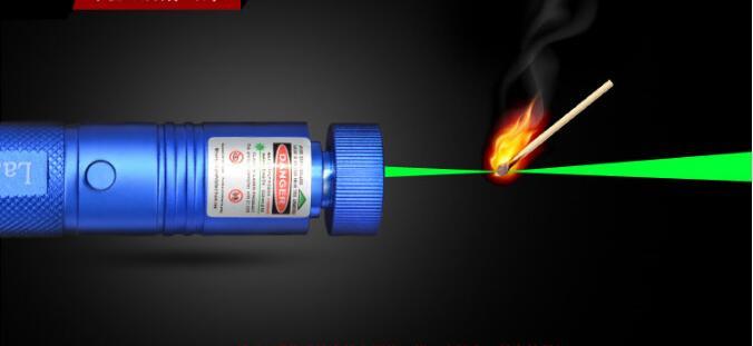 Hot! green laser pointer 500000mw 532nm Flashlight lazer burning sd lasers 303 presenter Burn Matches & Light Cigarette+safe key
