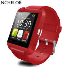 keyou U8 clock font b smart b font watch sleep monitor pedometer remote camera bluetooth smartwatch