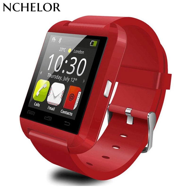 keyou U8 clock smart watch sleep monitor pedometer remote camera  bluetooth smartwatch telefon 1.44  for android IOS smartphone