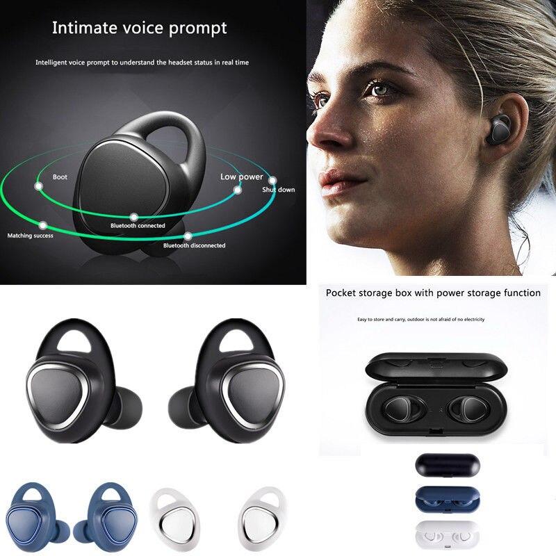 YISHANGOU Bluetooth Écouteurs Sans Fil Écouteurs Vrai Mini Jumeaux Stéréo Bluetooth Casque V4.1 Écouteurs Avec Micro Intégré