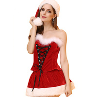 New Sexy Lingerie Women Chemise Lingerie Sexy Hot Erotic Sexy Christmas Cosplay Costumes Halloween Lingerie Underwear Temptation