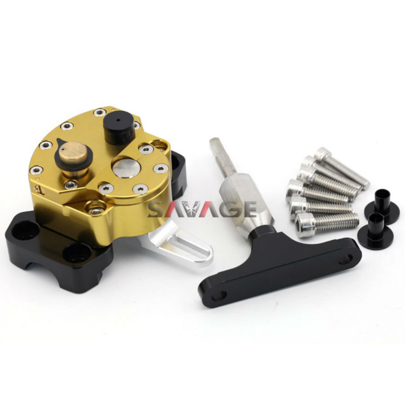 CNC Steering Damper With /& Mounting Bracket FOR HONDA CB500F//CB500X 2013-2015