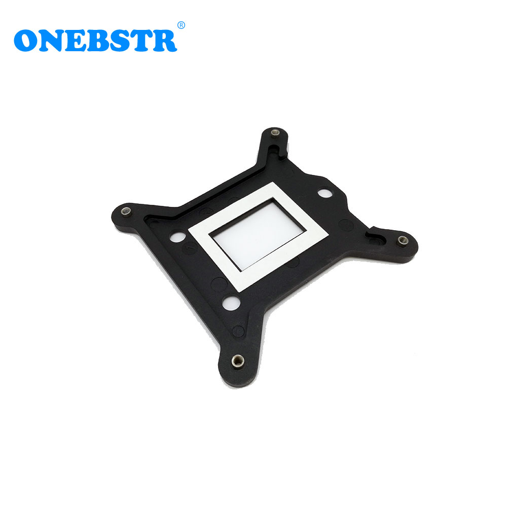 LGA 115X 1150 1155 1156 PC Plastic Backplate CPU Cooler Bracket CPU Heatsink Cooling Radiators Backplane 75x75mm Free Shipping