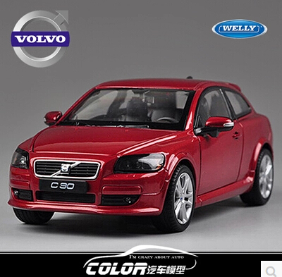 Volvo C30 welly 1 24 Original high quality alloy car model simulation Gift Toy boy Collection