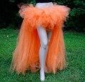 2014 mujeres de gasa falda del soplo de media longitud de la danza de hadas falda bajo alto del tutú van a odiar