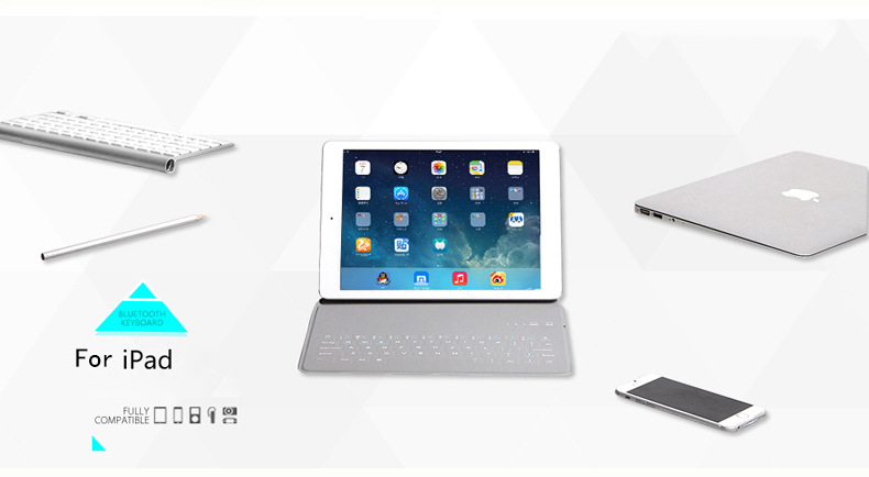New Ultra Slim Wireless Case for Ipad 23