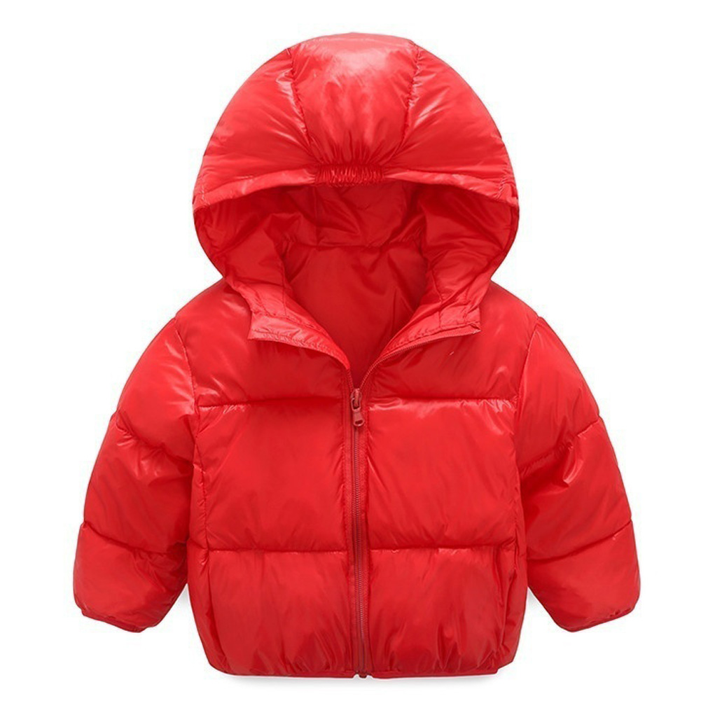 2017 Winter New Warm Boys Girls Thin Down Cotton Coat  Baby Kids Spring Autumn Down Jacket Children  Outwear Clothes 2016 winter thin down jacket fashion girls boys cotton hooded coat children s jacket outwear kids casual striped outwear 16a12