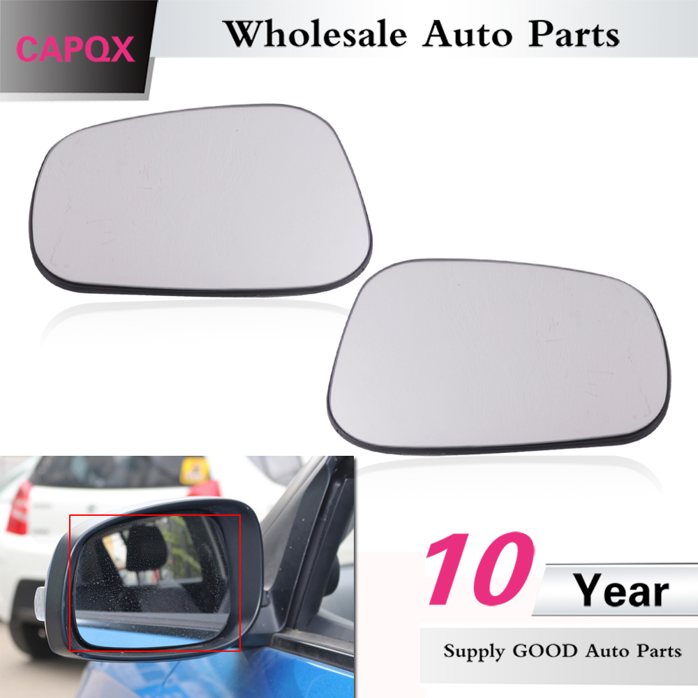 LEFT PASSENGER SIDE MIRROR GLASS FOR SUZUKI SWIFT  2005-2010
