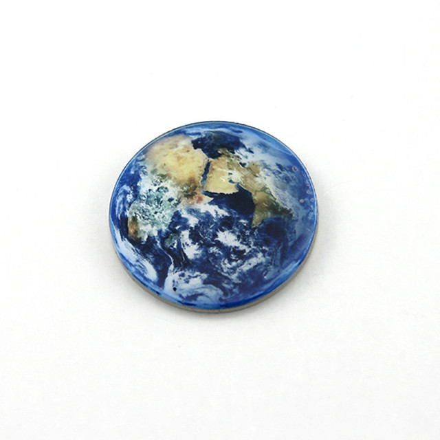 1 Pcs Creative Planet Earth Figure Badges For Clothes Acrylic Badges Kawaii Icons On Backpack Pin Brooch Badge Free Shipping by Ali Express