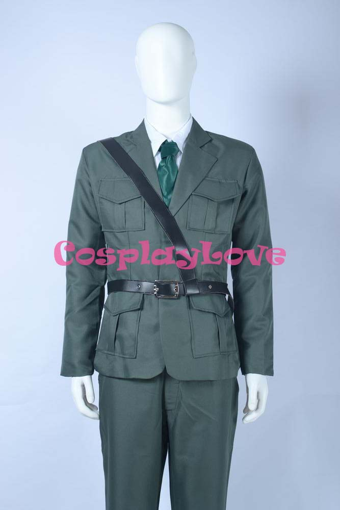 Axis Powers Hetalia Allied Forces England Cosplay Costume Custom-Made For Halloween Christmas Bithday CosplayLove