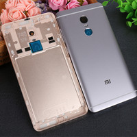 Redmi Note 4X Phone Case Official Original Housing Replacement Parts Metal Back Battery Cover For Xiaomi