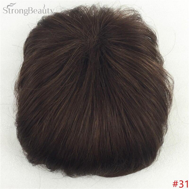 Сильная красота парик синтетические волосы парик выпадение волос топ кусок парики 36 цветов на выбор - Цвет: #31