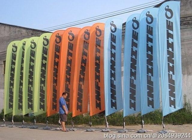 48m custom feather flags one sided beach flag xxxl size feather flag hardware - Custom Feather Flags