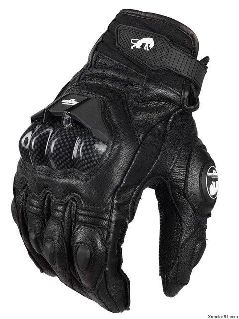 Envío gratis motorcycle racing guantes guantes de moto guantes de cuero