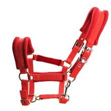Aoud Saddlery текстиль Холтер для верховой езды скачки оборудование для конного спорта краны Холтер Нержавеющая сталь Пряжка подголовник Высокое качество