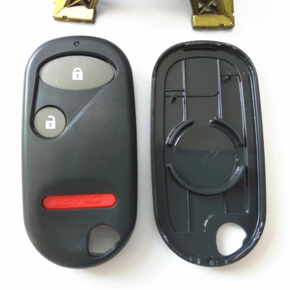 Remoto Clave Fob caso Shell de reemplazo de 2 Botones para Honda Civic CRV Accord Jazz