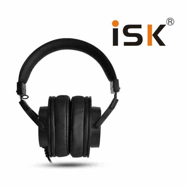 Professional ISK Hifi Headphone MDH8000 Monitor Earphone Computer Headset DJ fone de ouvido Audio Mixing Recording Gaming 3.5mm 2