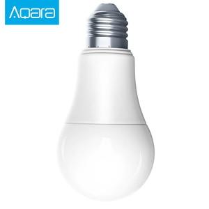 Image 2 - New Aqara Zigbee Smart White Color LED Bulb 9W E27 2700K 6500K 806lum smart Light Work with Smart App