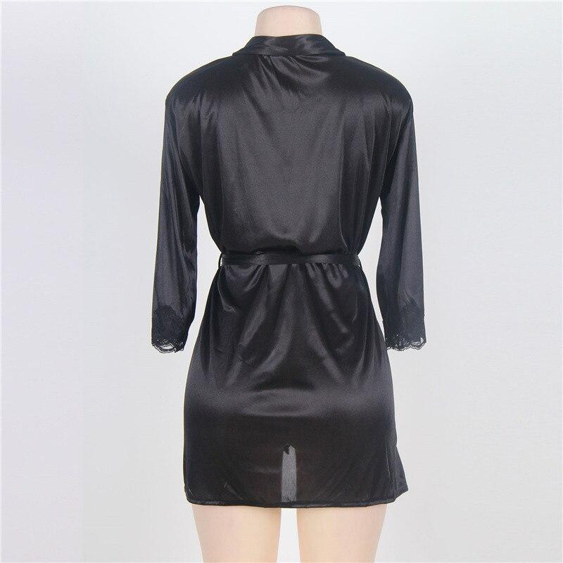 1f4353c4c5ced Comeonlover Hot Sale Silk Satin Robes Fashion Lingerie Robe Sexy Short Women  Bathrobe bridesmaid Sleep Wear Robe Home RT70145