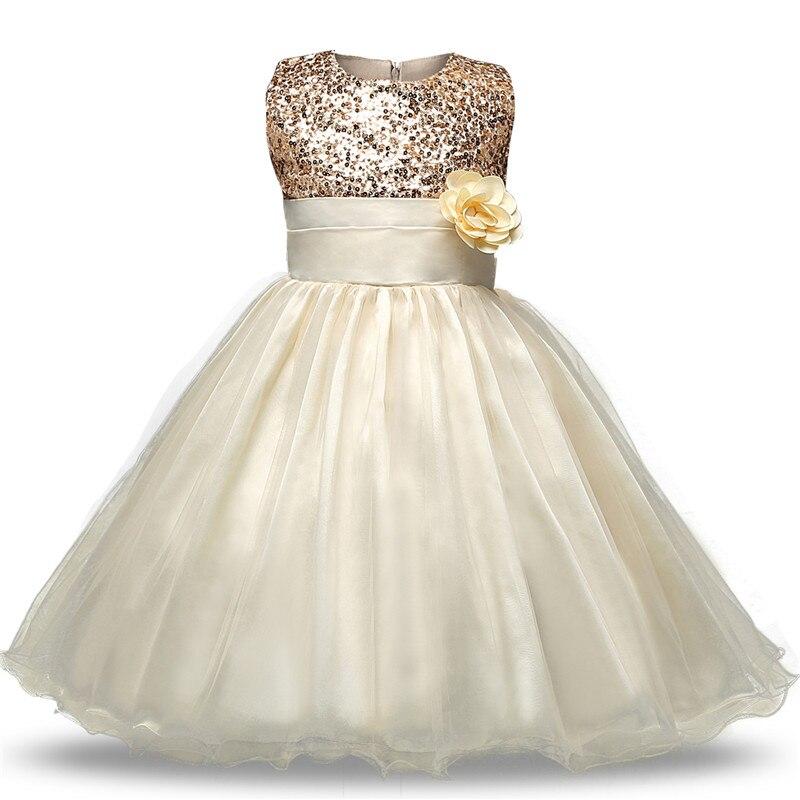 Flower Baby Girl Dress 2017 Fashion Infant Vestido Sleeveless Baby Clothing Ball Gown Solid Wedding Party For 3-12Years Dresses вечернее платье mermaid dress vestido noiva 2015 w006 elie saab evening dress