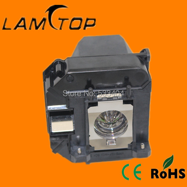 FREE SHIPPING  LAMTOP  180 days warranty  projector lamps with housing V13H010L64  for  EB-C1030WN free shipping new projector lamps bulbs elplp55 v13h010l55 for epson eb w8d eb dm30 etc