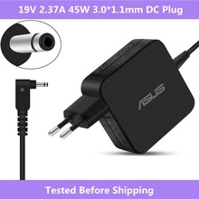 19V 2.37A 45W 3.0*1.1mm For Asus UX21 C200 Laptop Charger power supply AC adapter with light For Asus Notebook