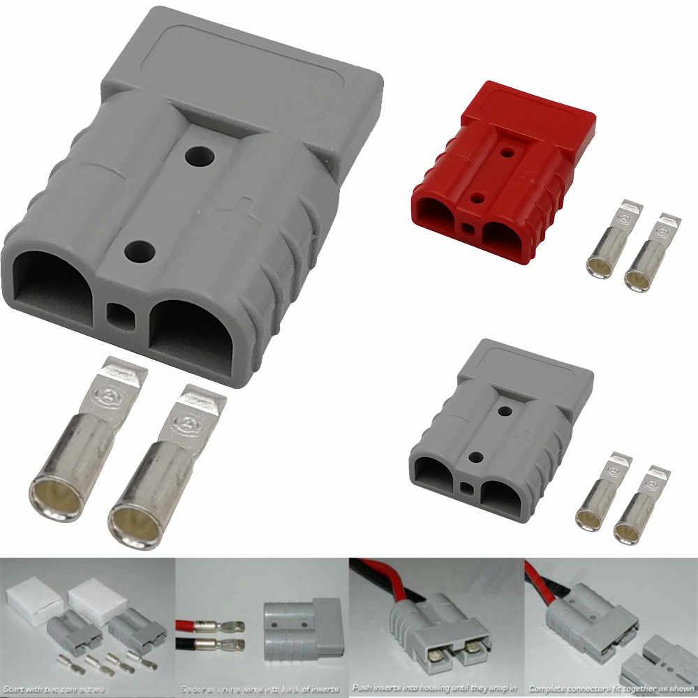 Высокая рекомендуем 1 упак. 175 Amp Plug Мощность полюс электрические Зарядное устройство Батарея разъем адаптера для электрических транспортных средств электрифицированная машина