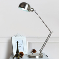 Free Shipping American Long Arm Folding Table Lamp Eye Study Led Unplugged Children Bedside Reading Student