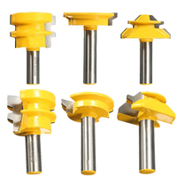 3pcs Set Lock Miter Glue Joint Drawer Router Bits 1 2 Shank Router Bits For Woodworking