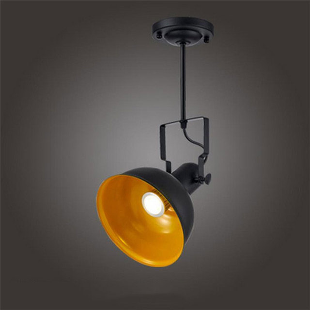 Retro American Led Track Light Clothing Stores LED Spotlight - Light fixture stores