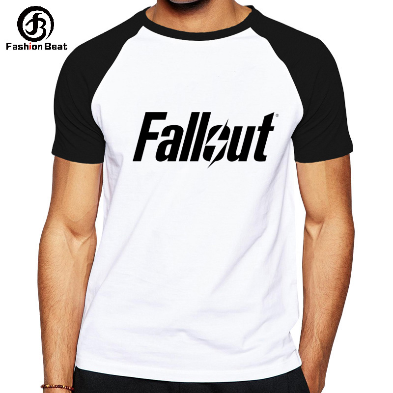Fallout   T  -  shirt   Fallout 4 Tshirt Sandbox Survival Game   T     Shirt   New Arrival 2018 Tops Modal Comfortable Tee Fashion Logo Clothes