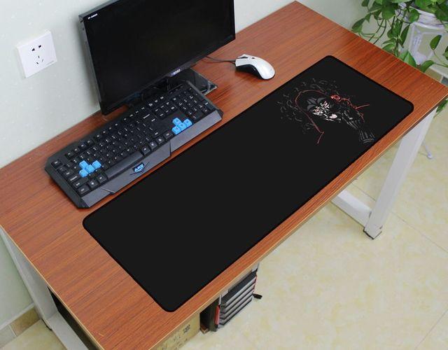 tapis de souris star wars 90x30cm accessoire de jeu pour ordinateur portable