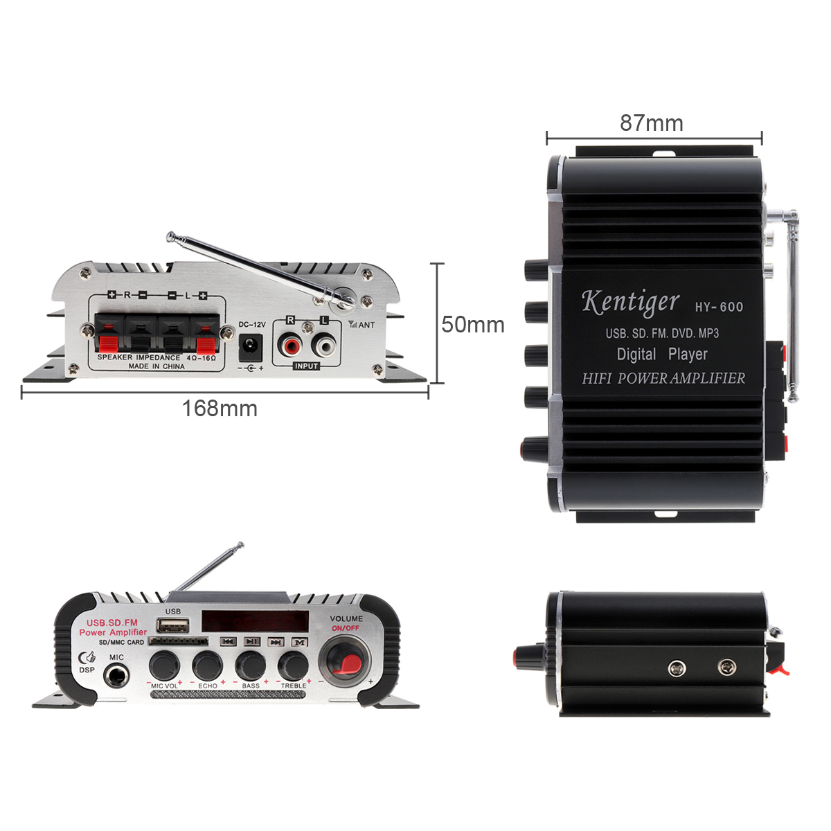 de potencia fm radio usb mp3 player 05