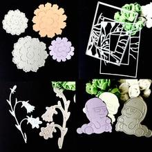 Cutting-Dies Paper-Cards Scrapbooking DIY Creative Hot Metal Gift Stencil 1pcs Headset