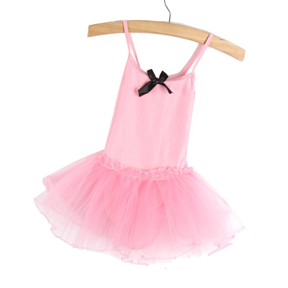 Children Kids Girls Gymnastics Dance Dress Girl Ballet Tutu Skirt Leotard Skate Dresses Outfits