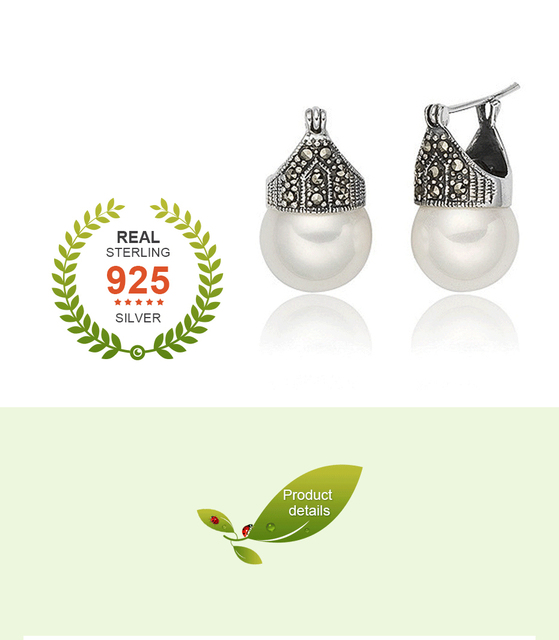 Vingate Drop Pearl Earrings3