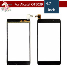 For Alcatel One Touch idol 3 6039 OT6039 6039Y 6039A 6039K Touch Screen Digitizer Sensor Outer Glass Lens Panel Replacement цена в Москве и Питере