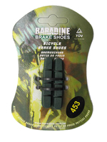 Baradine 453 Road Bike Bicycle Ceramic Wheel C Brake Caliper Brake Shoes Pads For Ceramic Rim