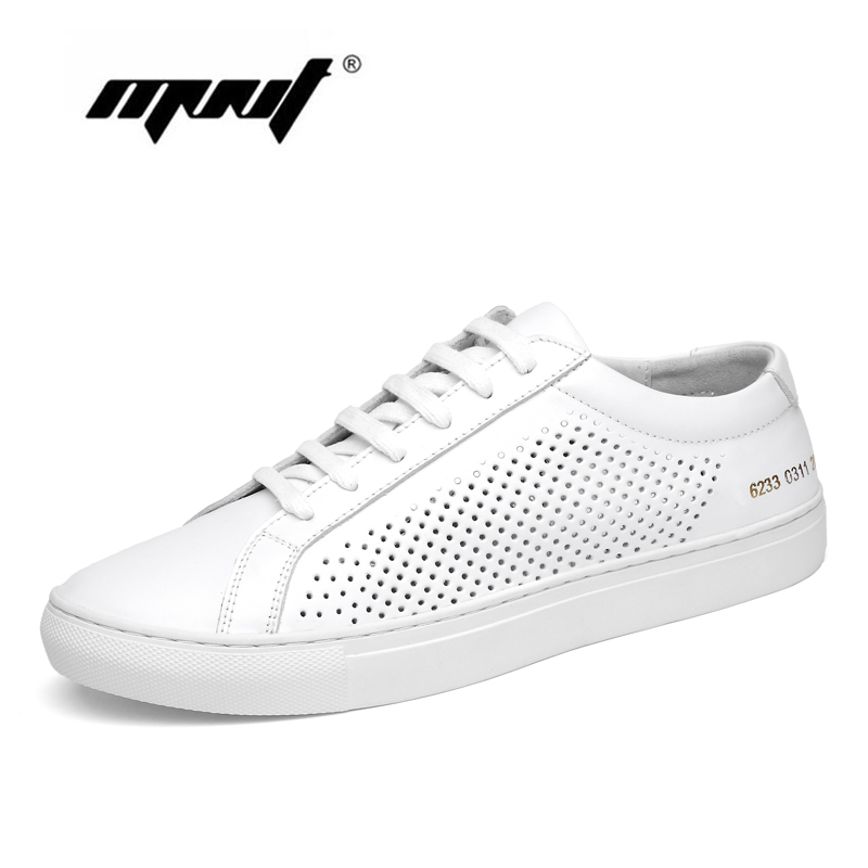 Genuine leather men shoes flats for sneakers Handmade mesh shoes men Soft leather loafers quality walking