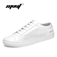 Купить с кэшбэком  Genuine leather men shoes flats for sneakers Handmade mesh shoes men Soft leather loafers quality walking casual shoes