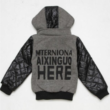 New Children Outerwear Winter Autumn Boy Casual Jackets Coat Baby Kids Clothes Boys Leather Jacket Baby Clothing Overall Hoodies